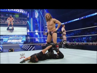 Six-Man Tag Team Match: Daniel Bryan, Rey Misterio & Sheamus vs. The Shield (Dean Ambrose (c), Seth Rollins & Roman Reigns) [WWE Friday Night SmackDown! 31.01.2014]